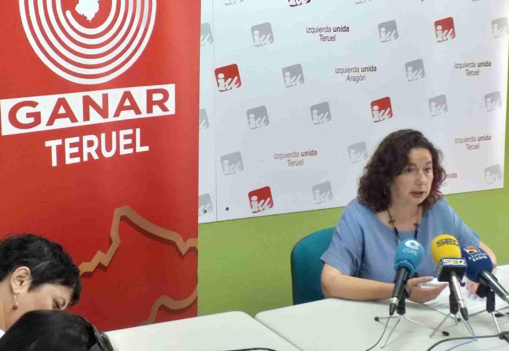 Ganar Teruel – IU se suma a las protestas del cuerpo de extinción de incendios