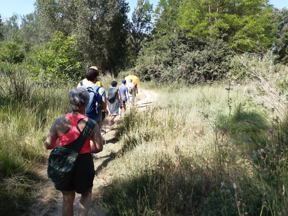 'Paseos Guiados' continúa las visitas a los espacios verdes de Uesca