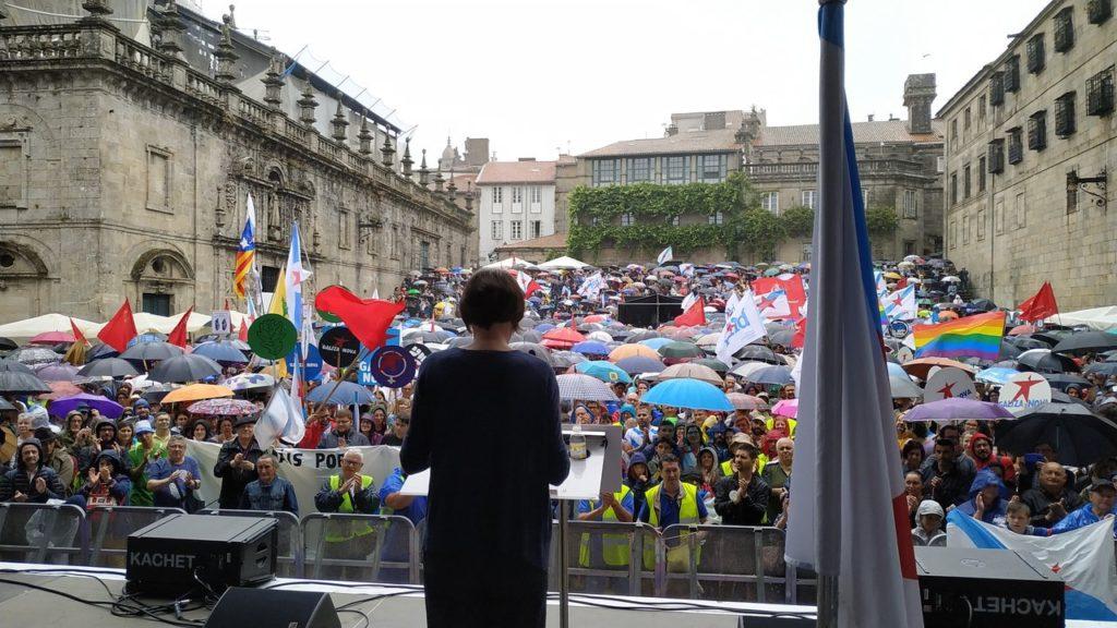Puyalón asiste a los actos por el Día da Patria Galega