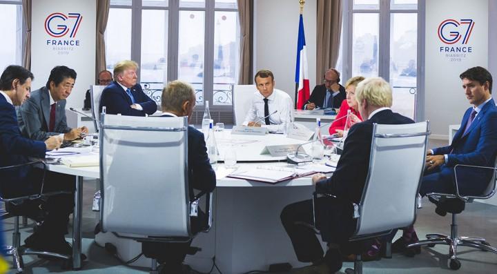G7: una cumbre «ilegítima» que finaliza sin grandes acuerdos y con la «detención masiva» de activistas