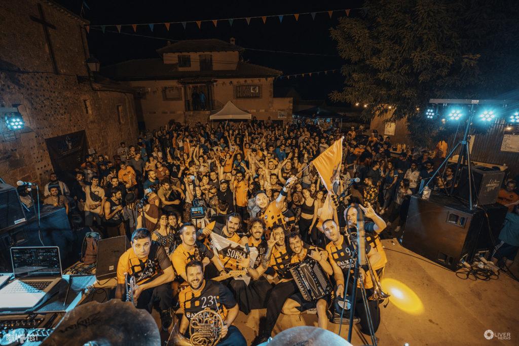 Boina Fest reúne en Arenillas a 800 personas pertenecientes a más de 100 pueblos de la Serranía Celtibérica