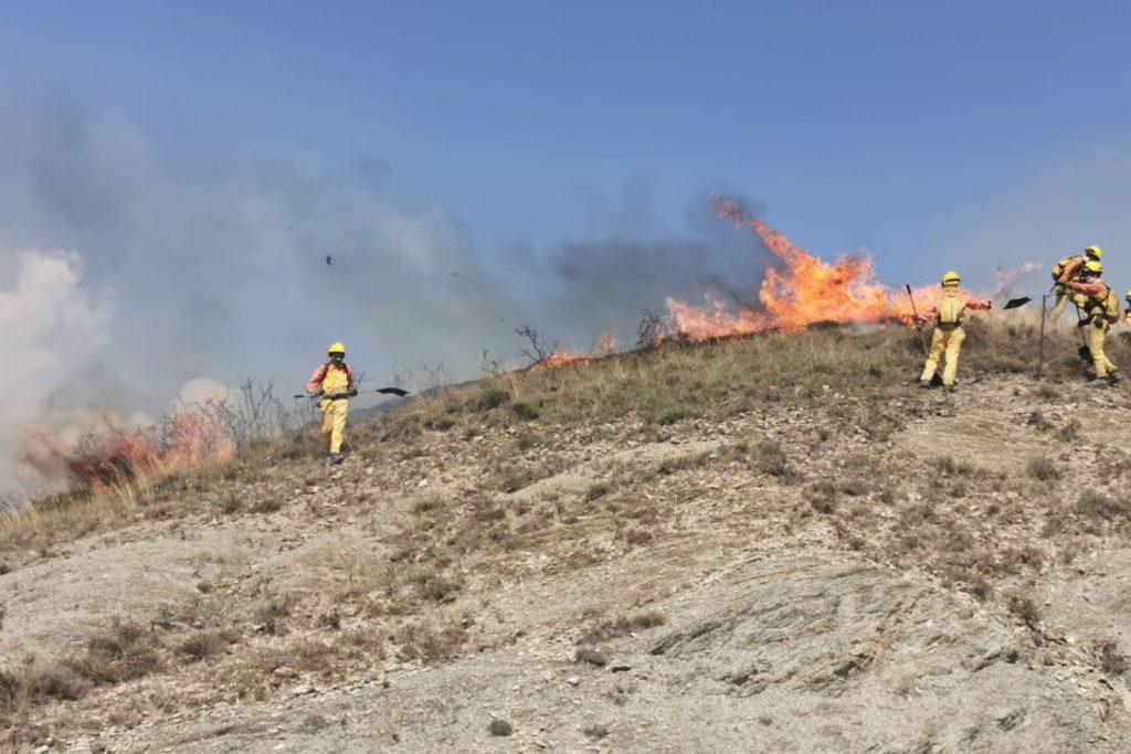"""CGT Sarga continúa denunciando las """"precarias condiciones laborales"""" de las bomberas y bomberos forestales de Aragón"""