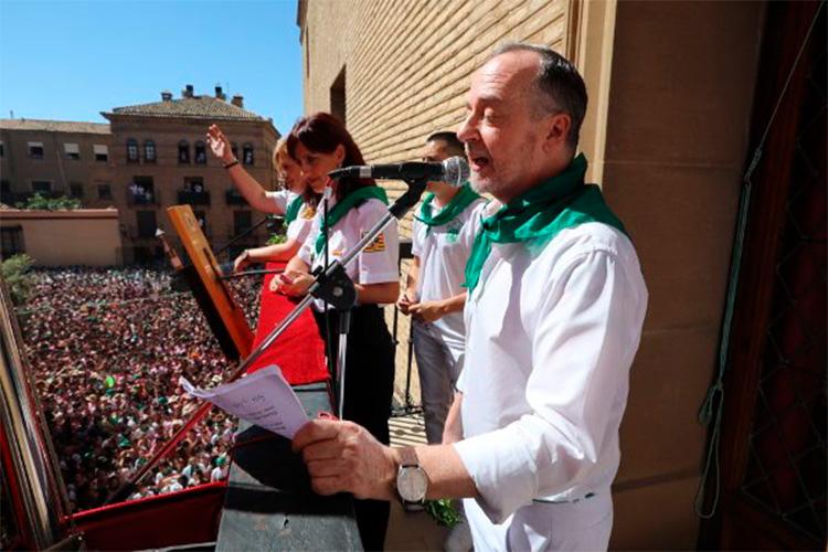 Un año más Uesca se viste de blanco y verde para celebrar las Fiestas de San Lorién