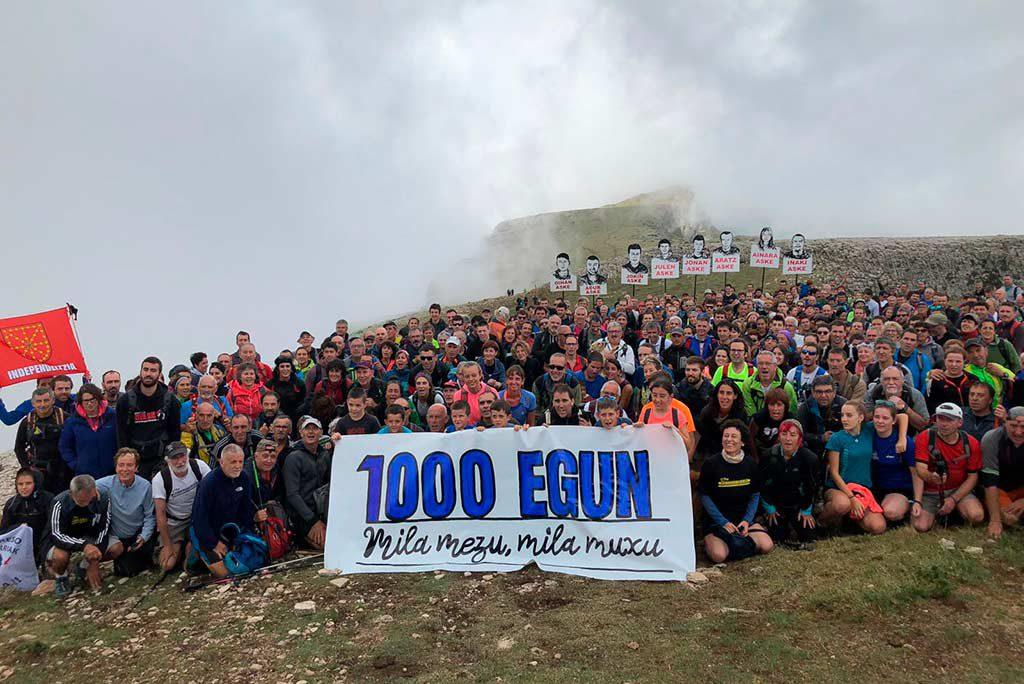 Los 1.000 días de Altsasu: del monte Beriain a la libertad