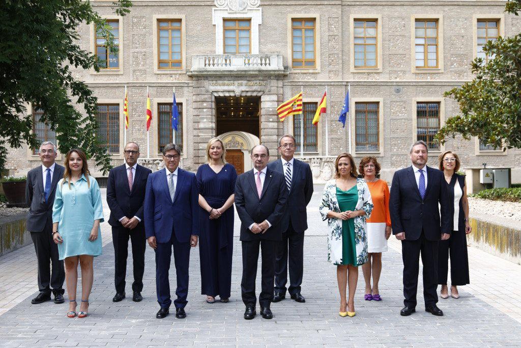 """Lambán afirma que su Gobierno es """"diverso y comprometido con un Aragón feminista"""" y """"de lucha contra el cambio climático y la despoblación"""""""