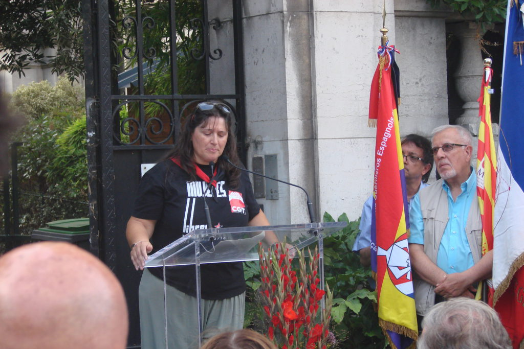 """Los actos de homenaje en París a integrantes de """"La Nueve"""" contaron con la presencia de CGT"""