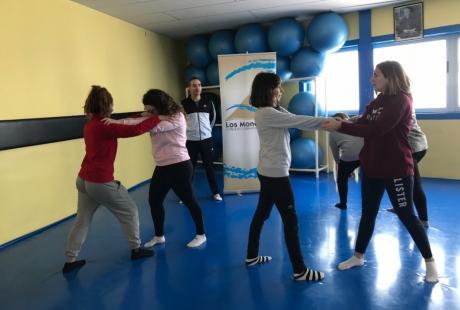 Nuevos talleres del IAM de defensa personal en todo Aragón