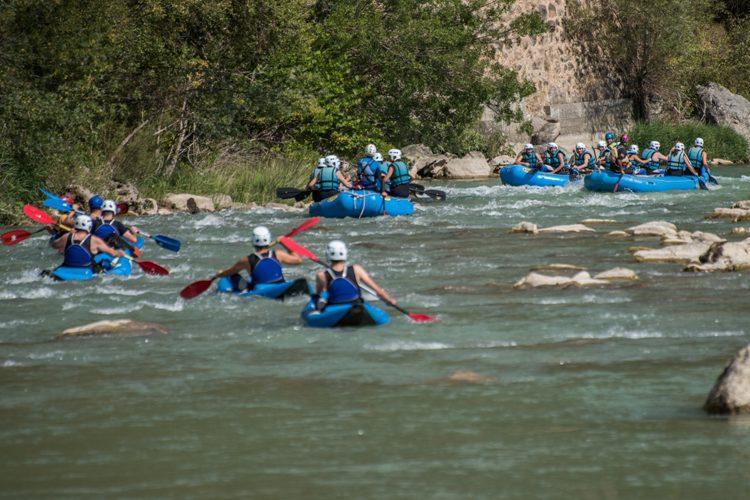 Las aguas bravas del río Galligo, un gran reclamo turístico