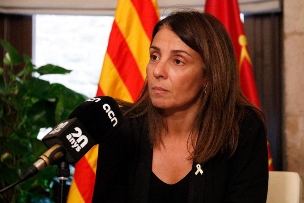 """Meritxell Budó: """"Mentre Pedro Sánchez visqui condicionat per l'opinió del PP i Cs sobre el debat territorial, tot continuarà igual"""""""