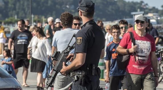 20.000 policías convierten Biarritz en un búnker de cara a la cumbre del G7