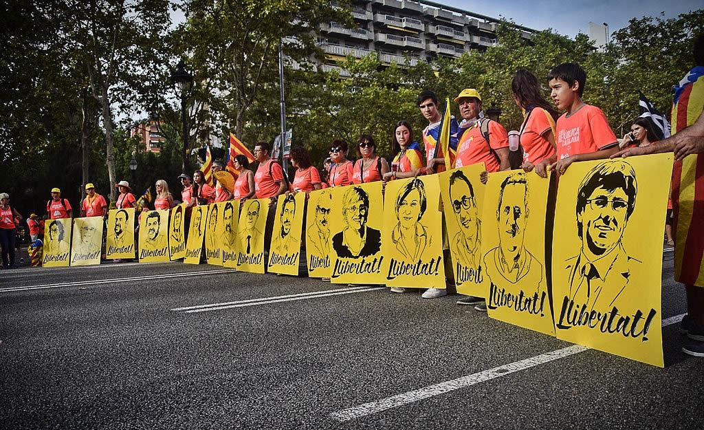El Supremo condena a 99,5 años de cárcel a los líderes independentistas