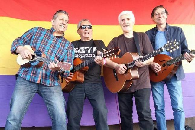El grupo Adebán, elejidos Hijos Predilectos de Zaragoza