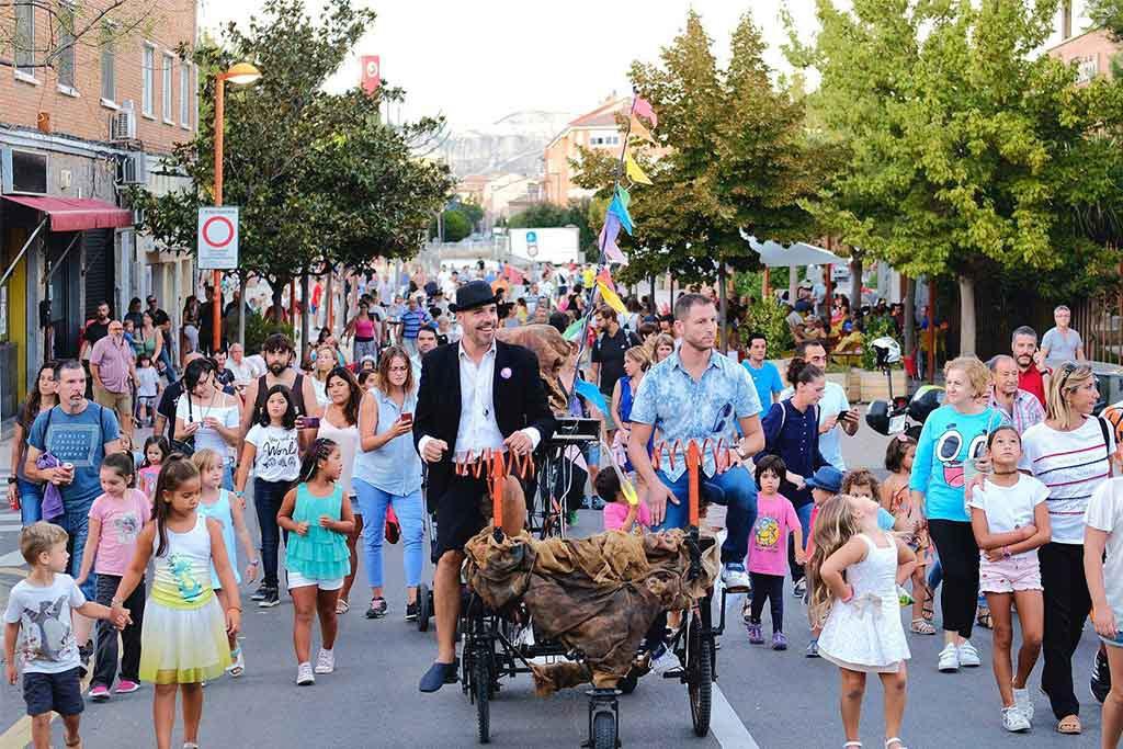 Las calles de Utebo se convierten en un circo del 12 al 15 de septiembre