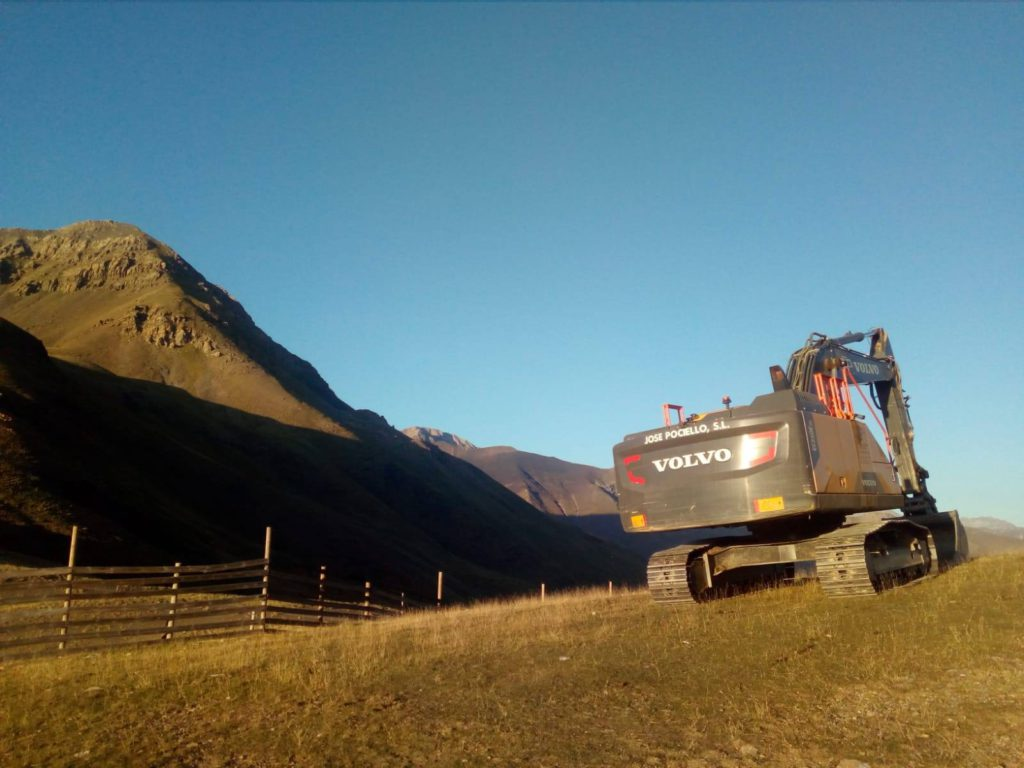 CHA rechaza el inicio de obras en Castanesa