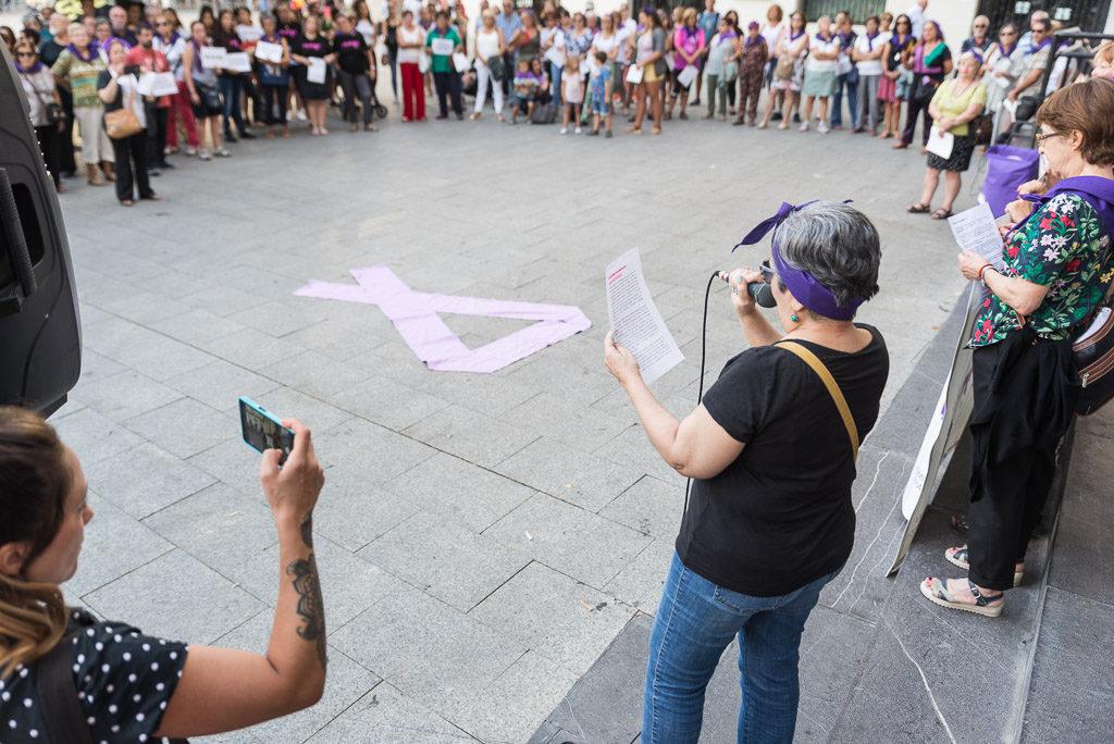 Arranca el curso en Zaragoza «alzando la voz» contra las violencias machistas