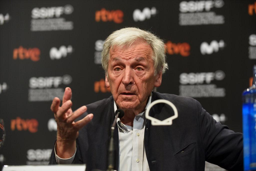 Costa Gavras, Premio Donostia «político»: «El fascismo está volviendo a Europa de una manera muy popular»