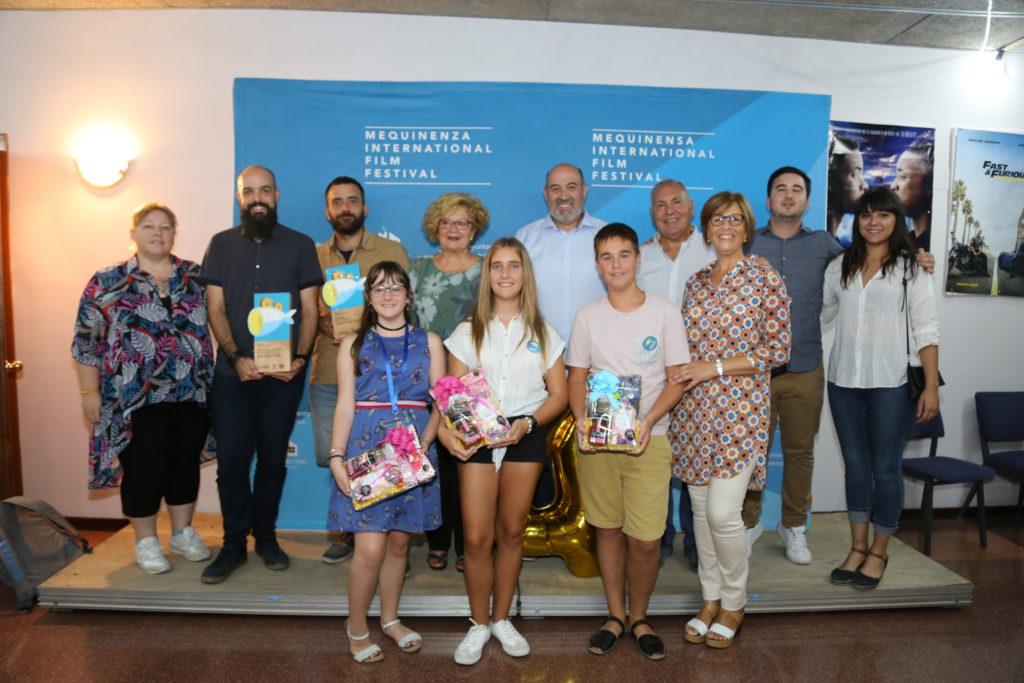 'La comulgante' se alza con el galardón de mejor cortometraje aragonés en el IV Festival Internacional de Cine de Mequinensa