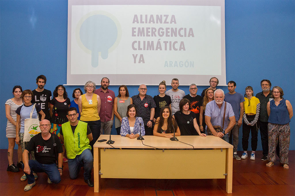 Emergencia Climática: arranca la Semana de Movilizaciones por el Clima en Aragón