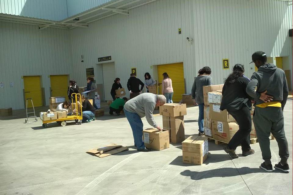 Llega la quinta recogida de alimentos para personas sin refugio en Grecia a Zaragoza