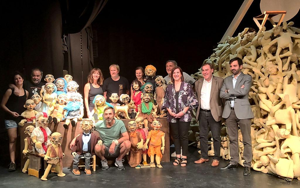 Teatro Arbolé arranca la XII temporada en el Parque del Agua con 122 funciones hasta finales de año