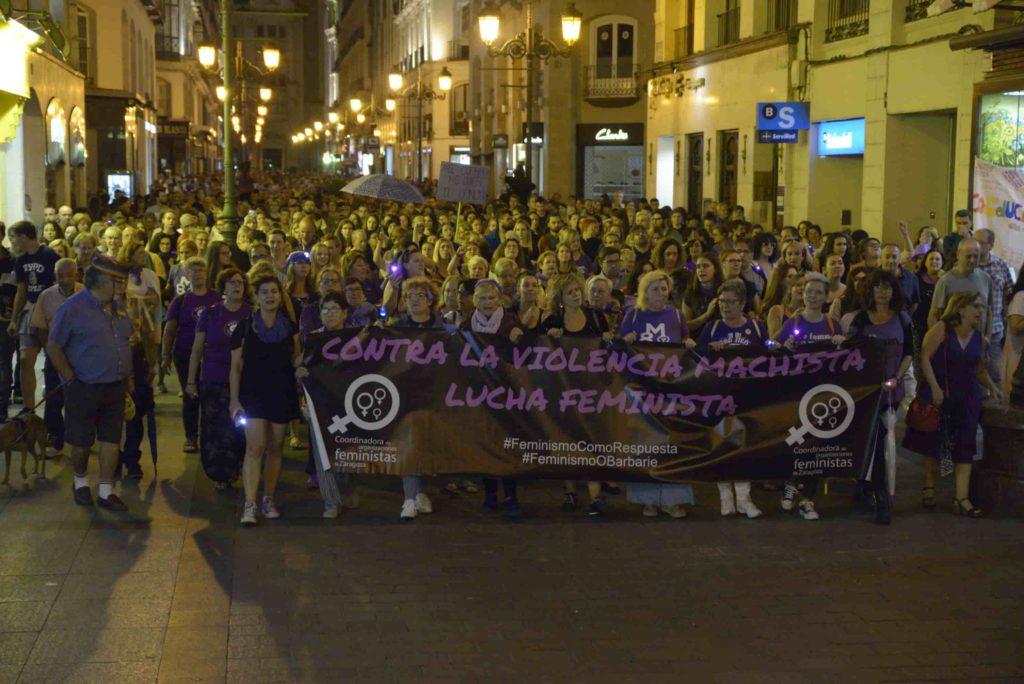 Partido Comunista y Juventud Comunista en Aragón: «Con el machismo, o lo combates o lo refuerzas»