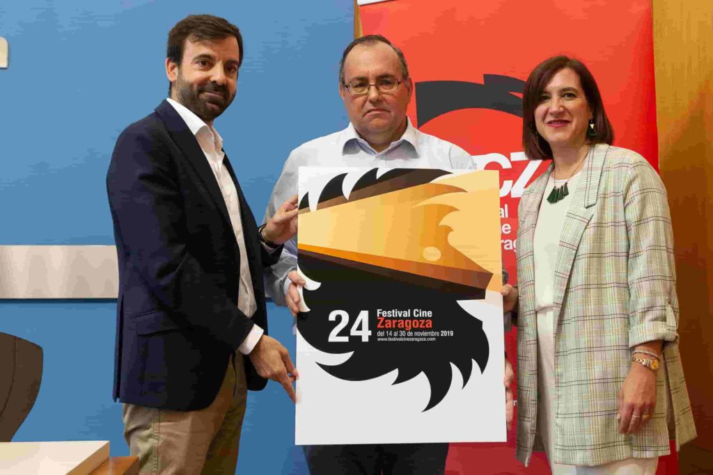 El león será la imagen oficial del 24 Festival de Cine de Zaragoza, donde se homenajeará a Luisa Gavasa
