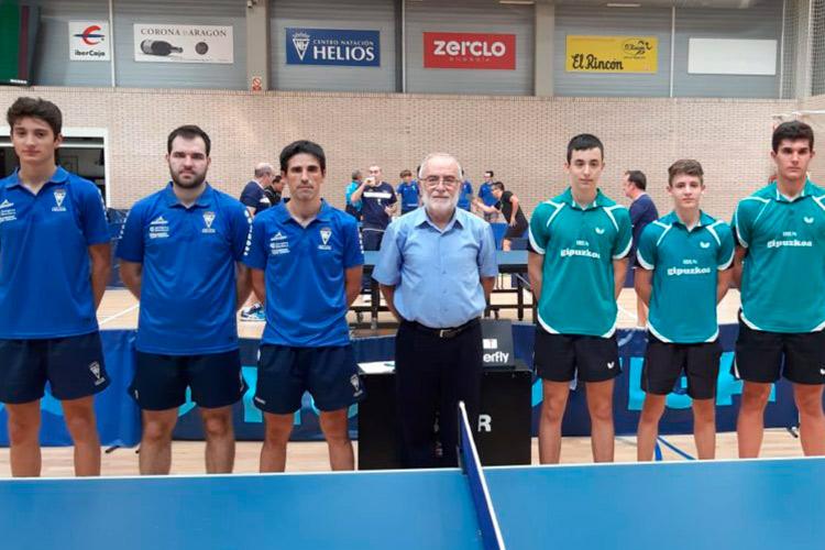 Pleno de victorias para los equipos de tenis de mesa aragoneses
