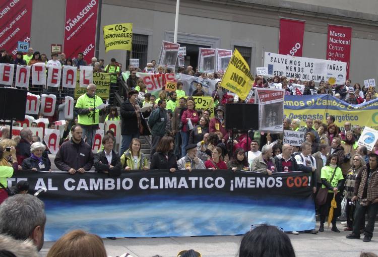 Anticapitalistas Aragón organiza en la Universidad de Zaragoza la charla-debate '¿Es el cambio climático una cuestión política?'
