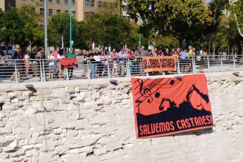 Fuera excavadoras de Castanesa