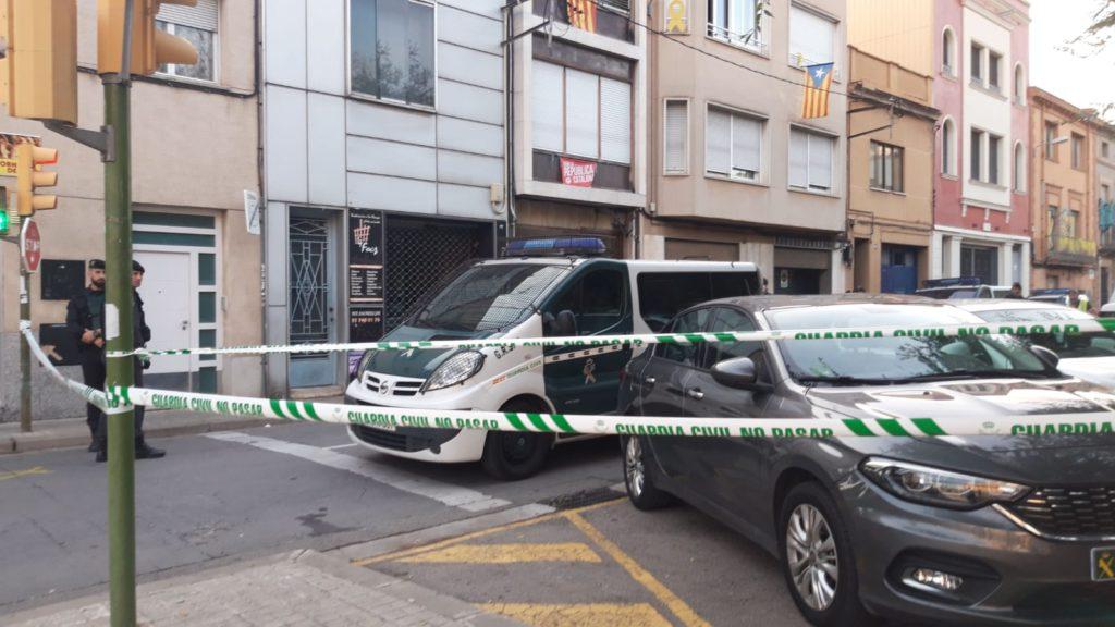 La Guardia Civil detiene a una decena de independentistas en Catalunya en un macrooperativo ordenado por la AN