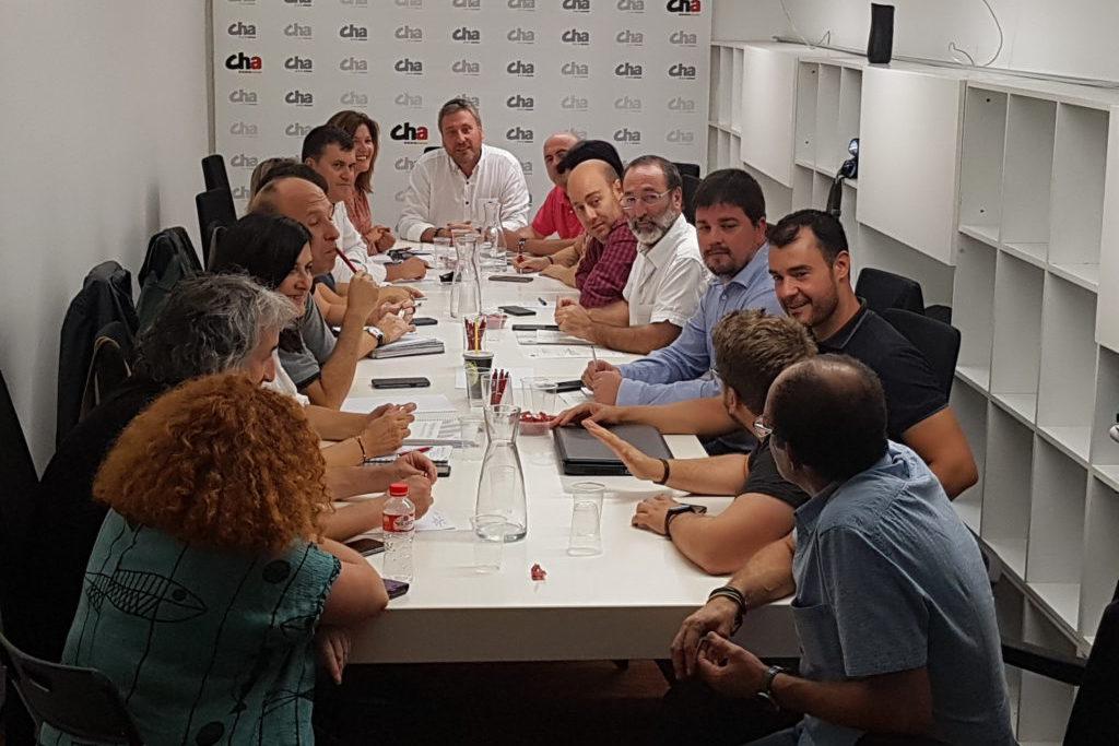 El Comité Nazional decidirá este viernes si CHA se presenta en las próximas elecciones generales del 10N