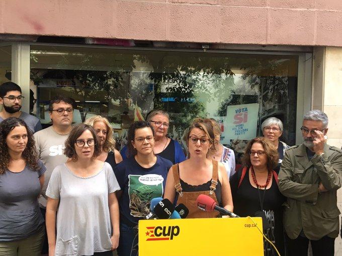 La CUP decide presentarse a las elecciones del 10N para «impugnar larepresión»