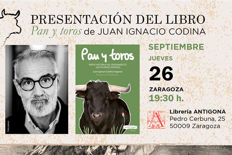 El libro 'Pan y Toros' rescata a históricos antitaurinos aragoneses como Joaquín Costa, Ramón Acín o Francisco de Goya