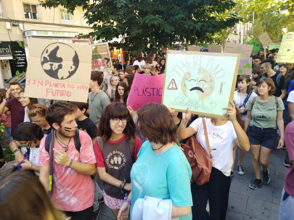 Vox Aragón niega el cambio climático y asegura que la culpa es de los «países en vías de desarrollo»