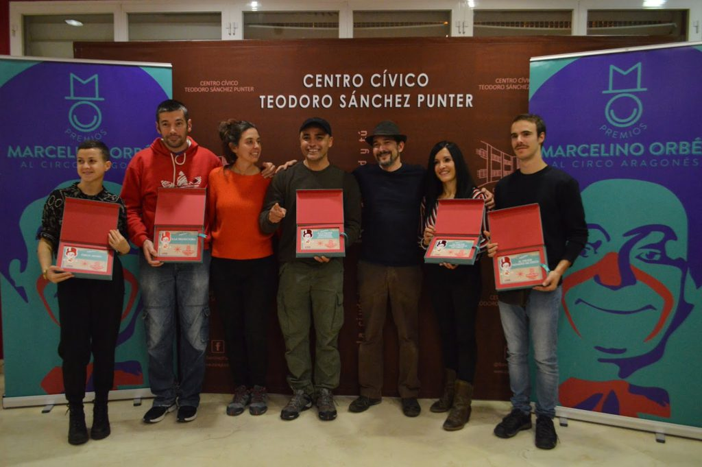 """Convocados los Premios """"Marcelino Orbés"""" al circo aragonés 2019"""