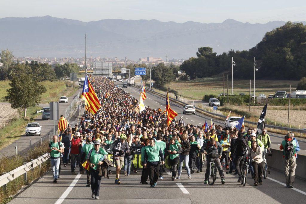 🔴 Marxes per la Llibertat en Catalunya: tot un poble en moviment