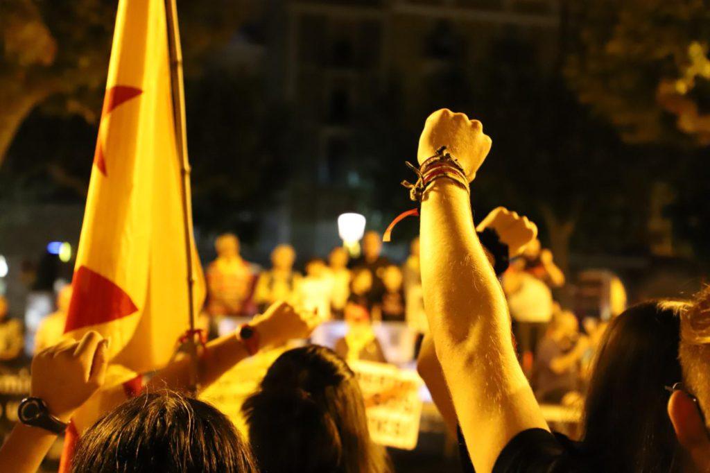 ANC y Òmnium impulsarán cinco marchas en Catalunya el día de la sentencia del juicio contra el procès