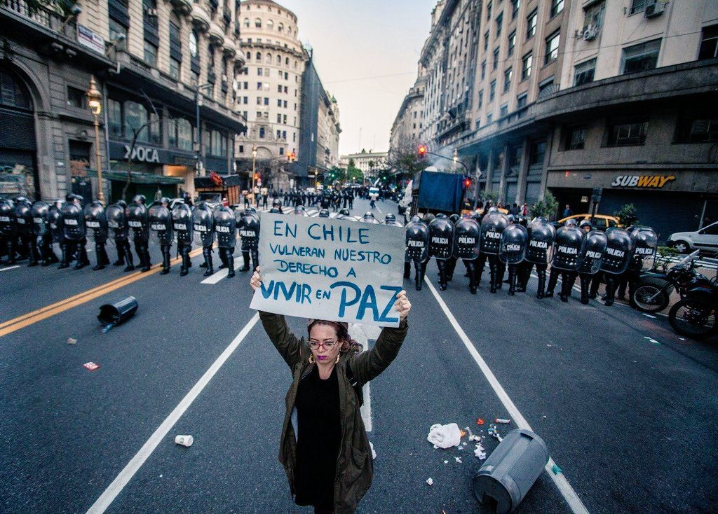 «Chile despertó» contra las políticas neoliberales de Piñera