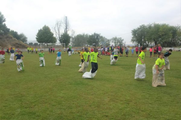 Belver inicia una nueva temporada de los Juegos Escolares Bajo Cinca Monegros con sus juegos tradicionales