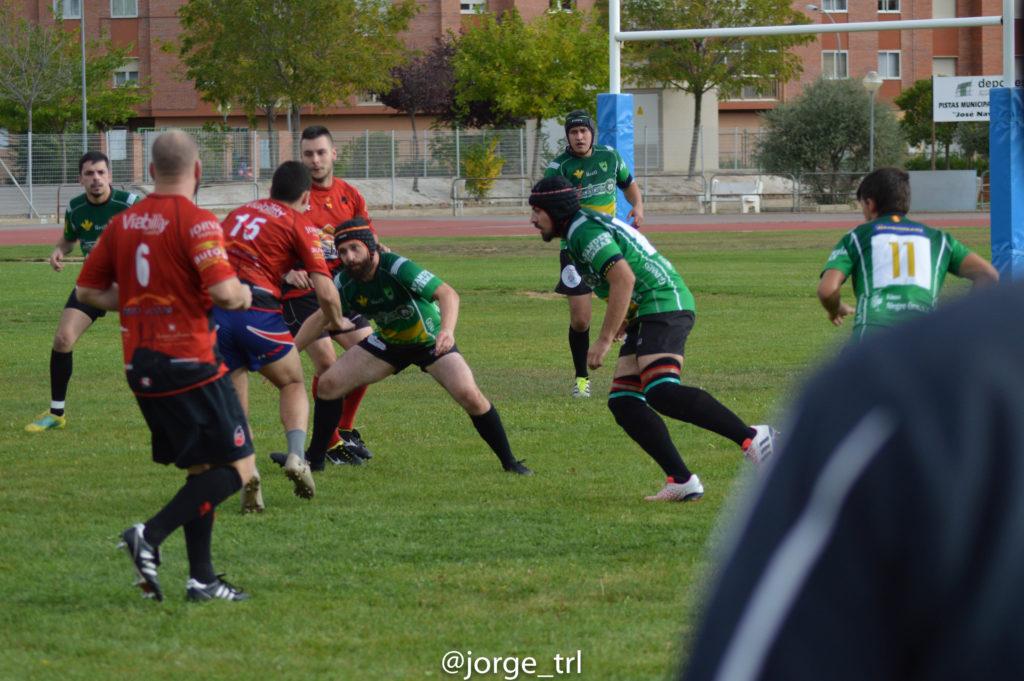 Victoria por la mínima del Club de Rugby Teruel ante un duro Peñagolosa RC