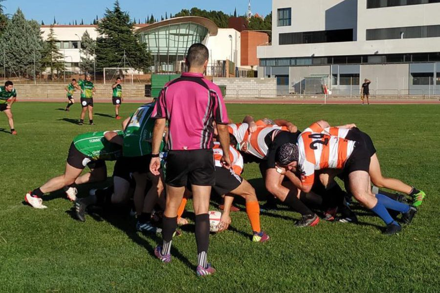 El Club de Rugby Teruel arranca la liga con una contundente victoria ante Les Abelles/Vall D´Uixo/ Morvedre