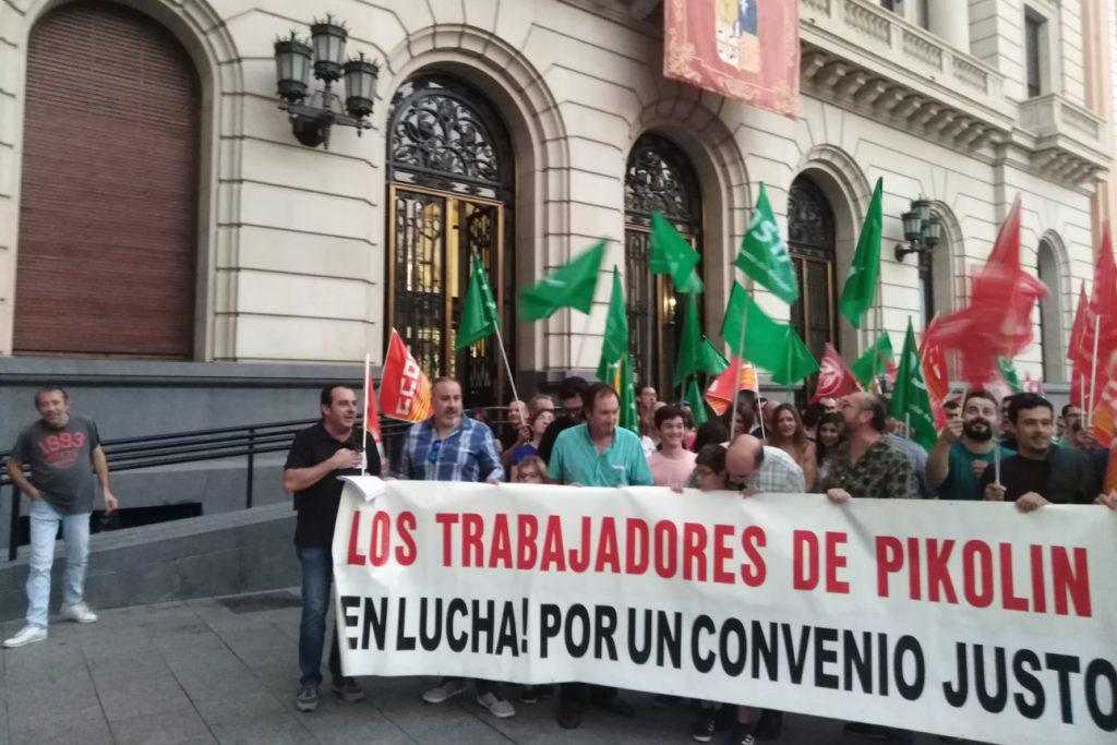 El comité de empresa de Pikolin convoca huelga para los días 24, 29 y 30 de octubre si no hay acuerdo