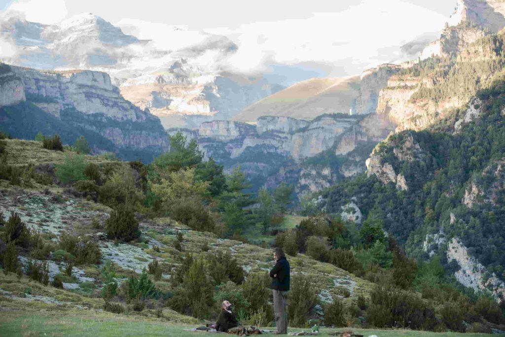 El director Jo Sol rueda en el Pirineo el largometraje 'Armugán'  en castellano y aragonés