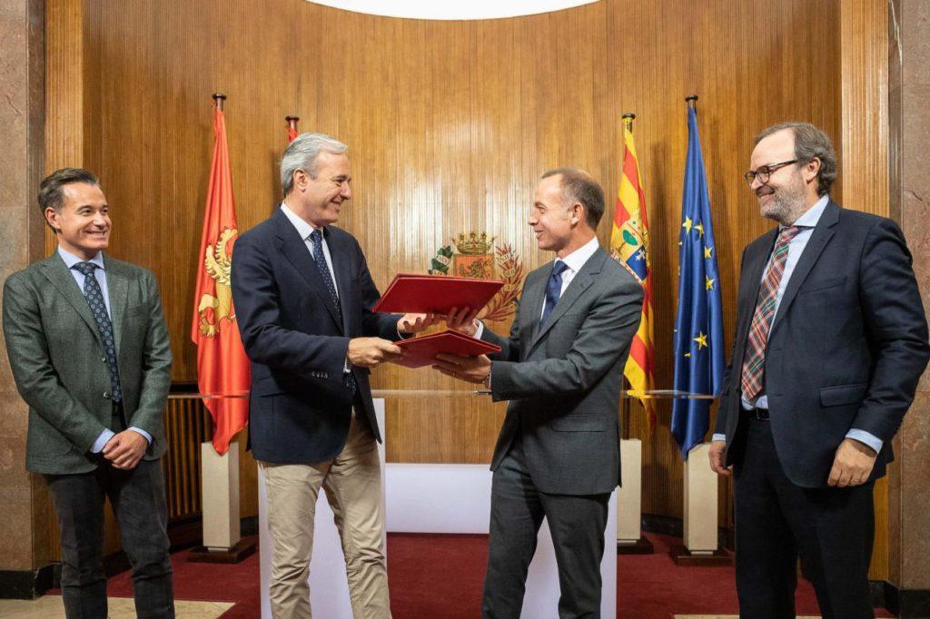 Alfombra roja al Real Zaragoza: cesión de La Romareda, 75 años para pagar las obras y pagos en especie