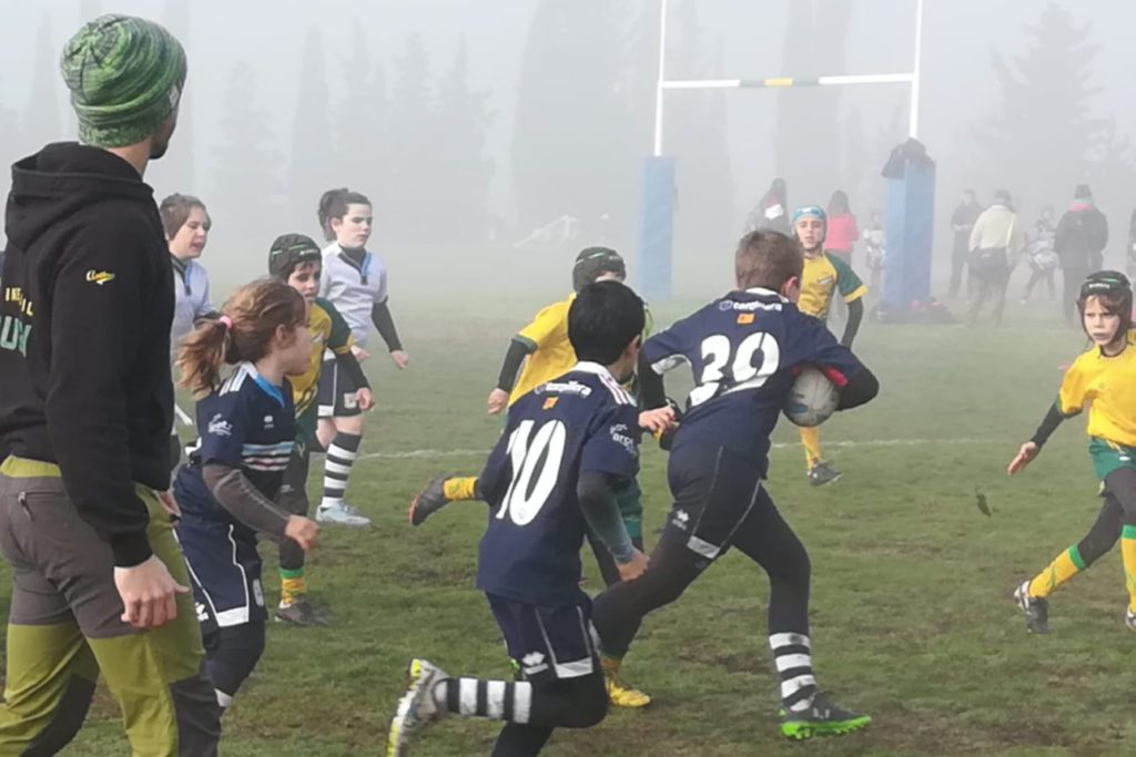 Este sábado las escuelas de rugby de Aragón celebran su primera concentración