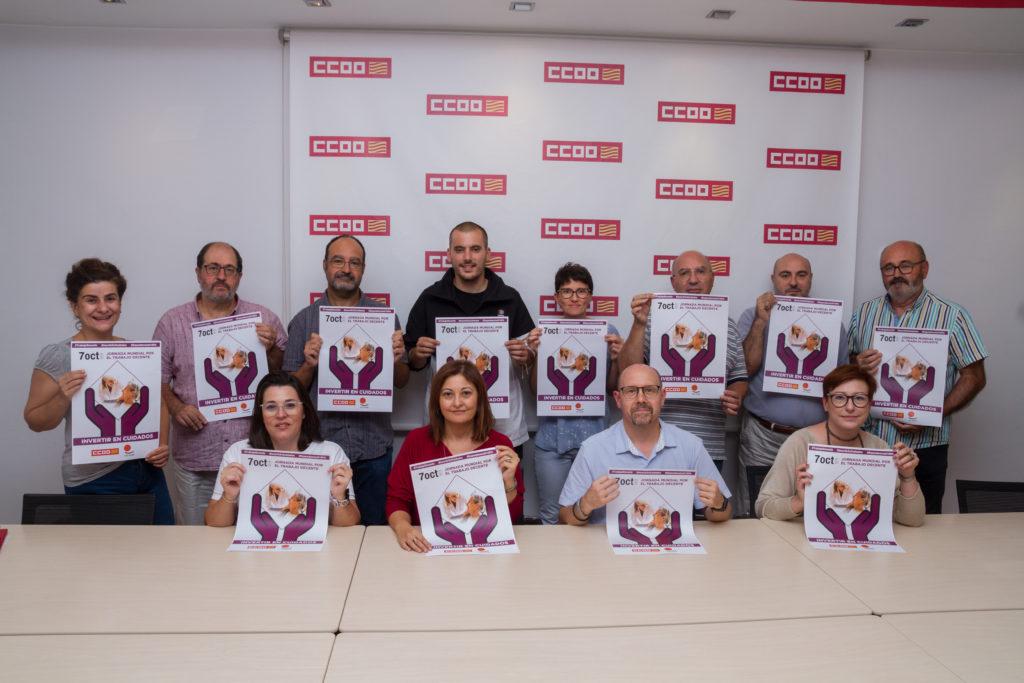 CCOO denuncia la precarización del sector de la dependencia y cuidados