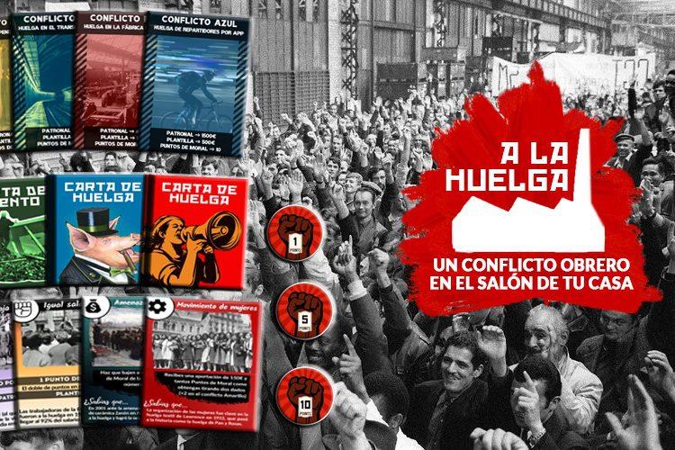 """""""A la huelga"""": Zaragoza inspira un juego de mesa sobre el movimiento obrero"""