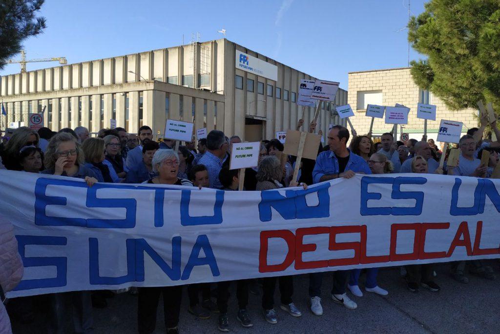 El comité de Future Pipe de Exeya convoca tres días de huelga para evitar el cierre de la planta