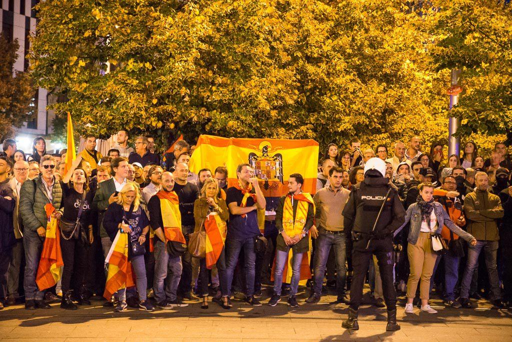 No es por Cataluña, es contra el fascismo