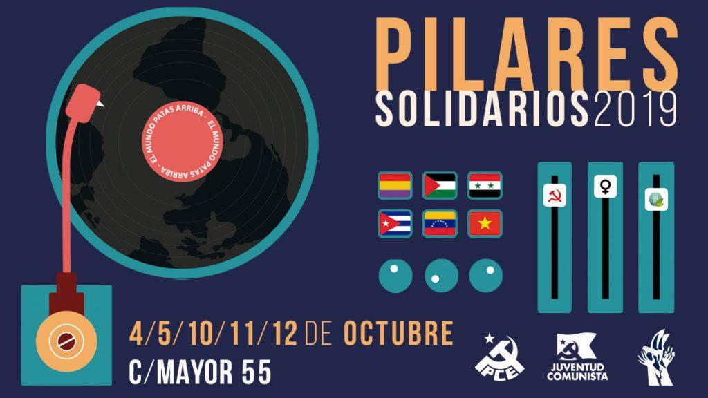 Pilares Solidarios 2019, un espacio para la ciudadanía combativa y solidaria de Zaragoza